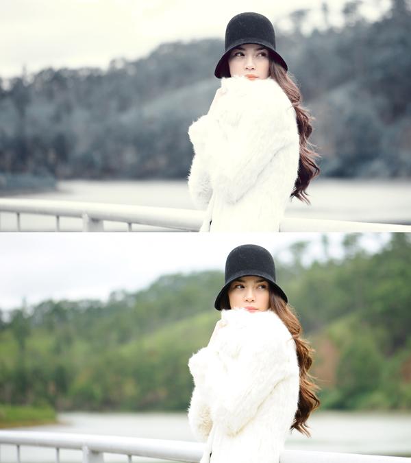 Học nghể photoshop-học làm blend màu tuyết trong photoshop