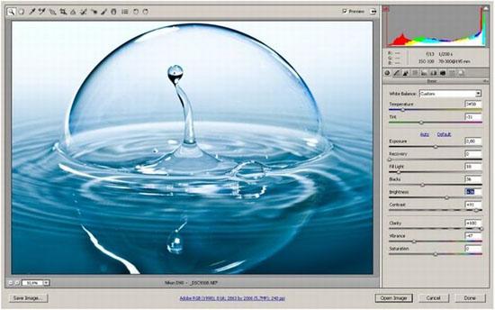 Kỹ thuật chụp ảnh - Chụp hình giọt nước rơi long lanh