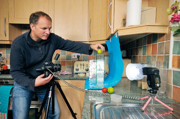 Kỹ thuật chụp ảnh - Chụp ảnh nước văng lên