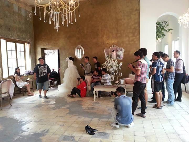 Địa chỉ nhận đào tạo chụp ảnh cưới