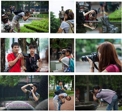 Lớp nhiếp ảnh cơ bản HCM