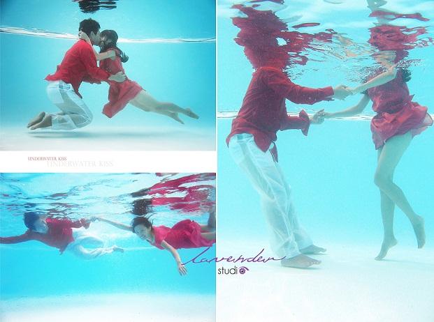 Học chụp ảnh cưới dưới nước
