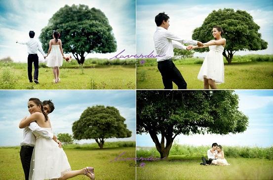 Học chụp hình cưới ngoài trời