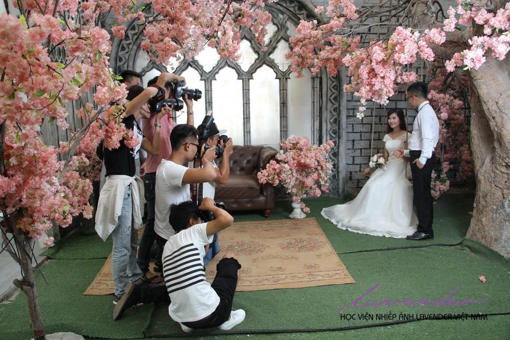 đào tạo nghề chụp ảnh cưới
