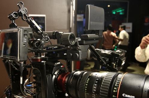 học quay phim tại sự kiện