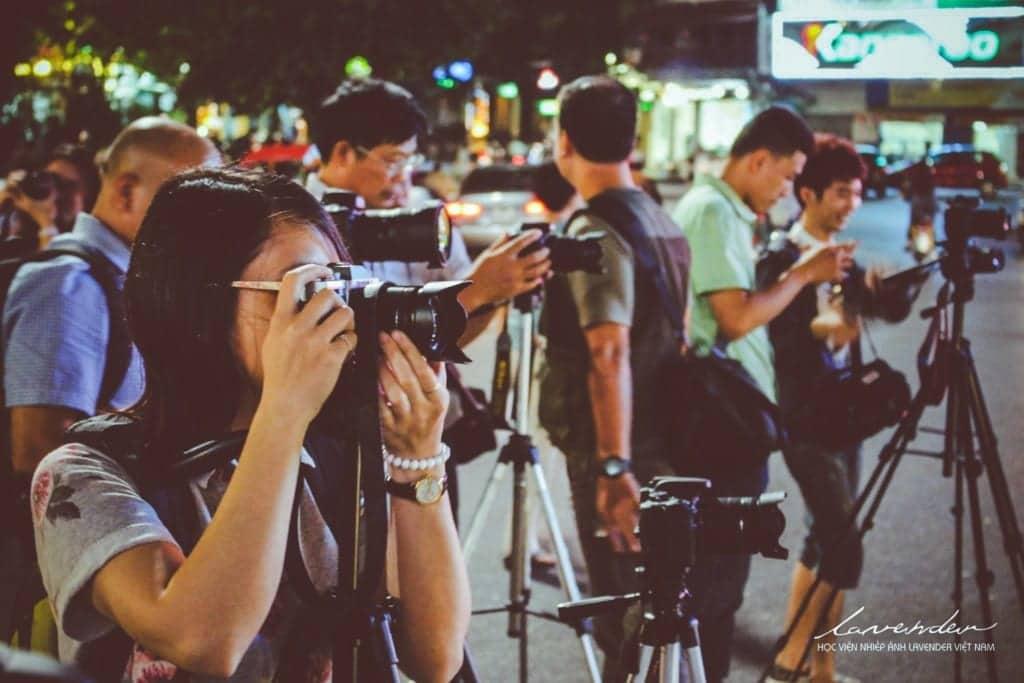 kỹ thuật chụp ảnh ban đêm