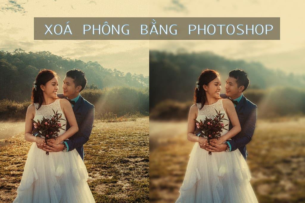 Xoá phông bằng phần mềm Photoshop