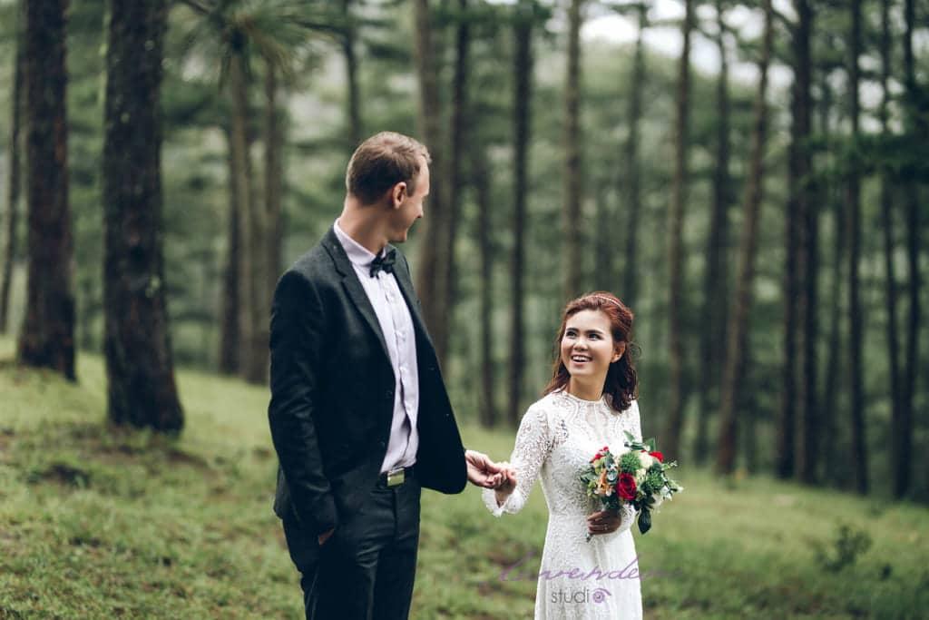 Lavender - trung tâm đào tạo trang điểm cô dâu chuyên nghiệp