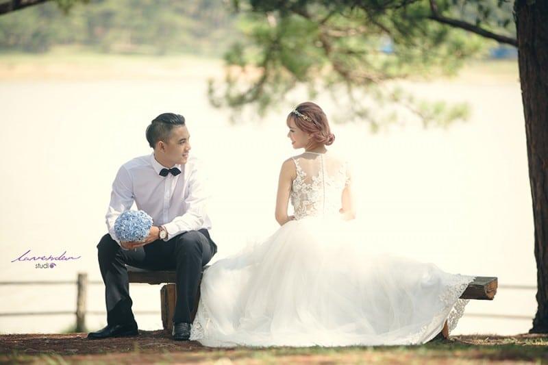 Chi phí học trang điểm cô dâu tại tphcm