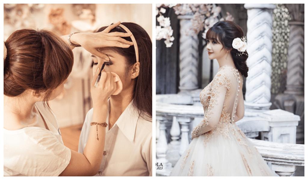 Có nên theo nghề trang điểm cô dâu hay không?