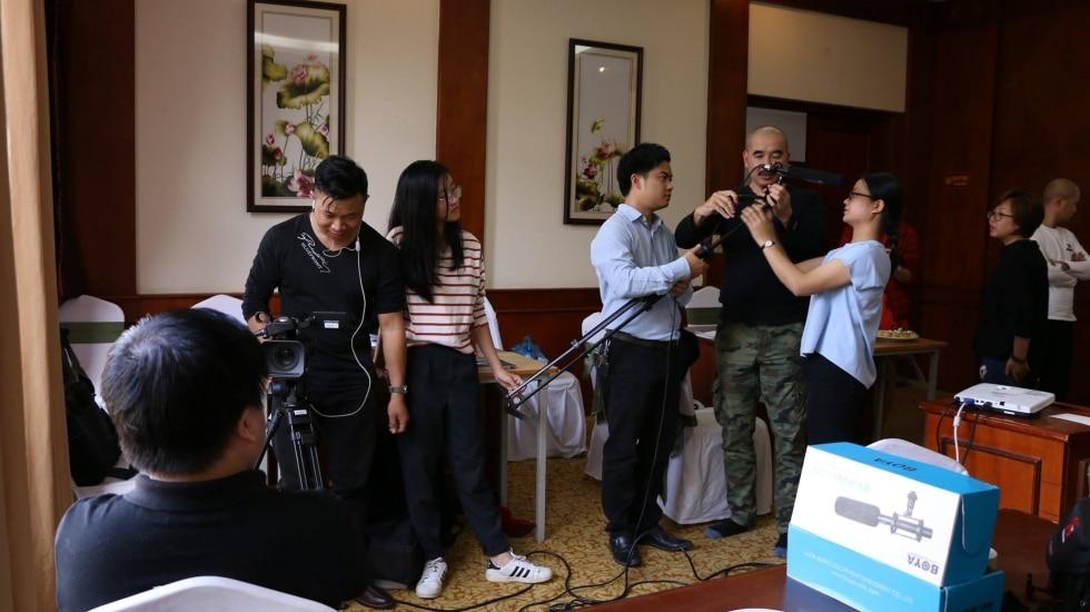 khóa học đào tạo quay phim chuyên nghiệp Tphcm