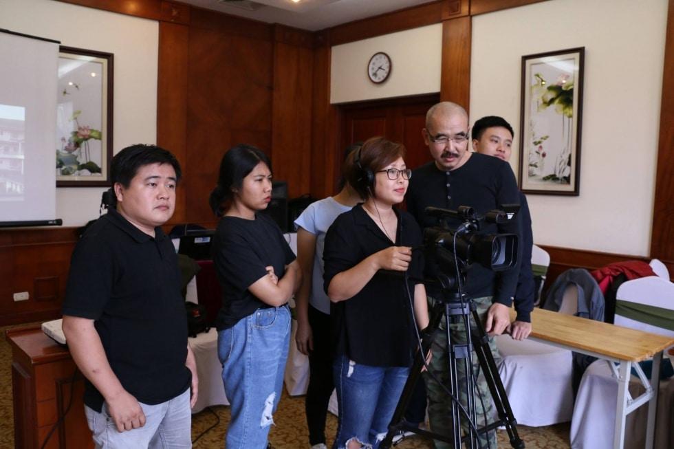 học việc quay phim tại Tphcm