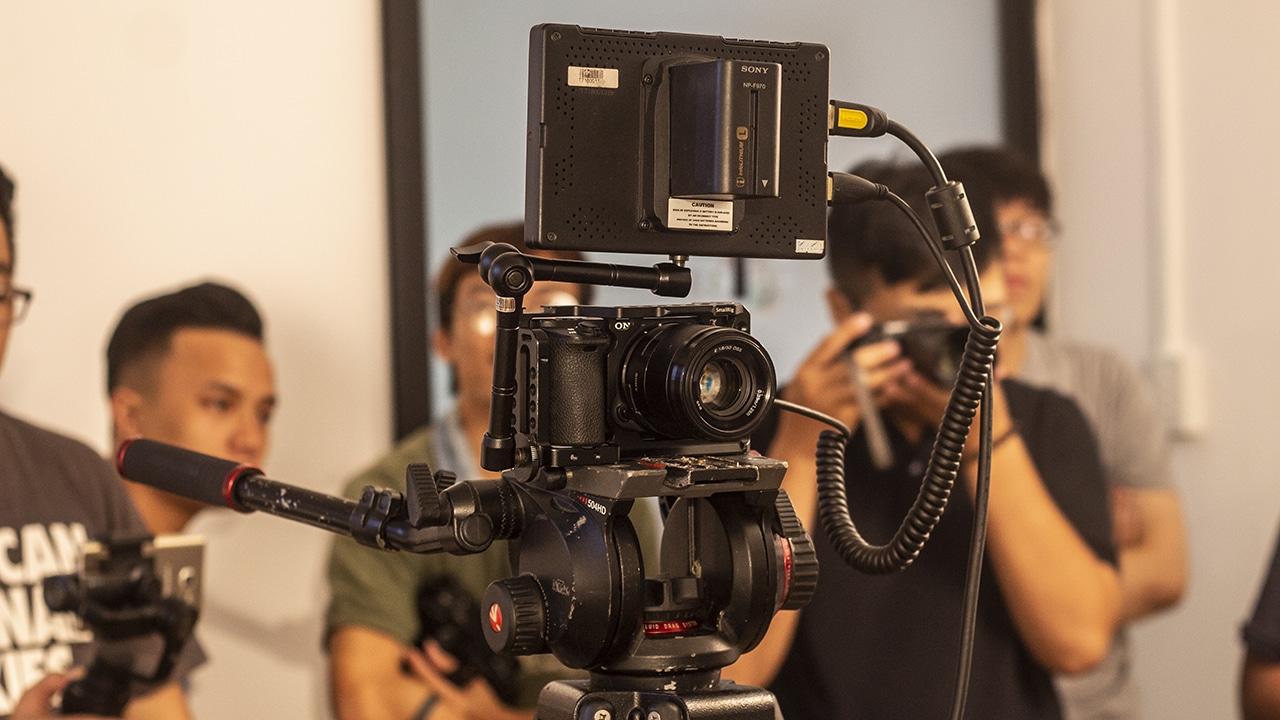 Đào tạo quay phim chuyên nghiệp