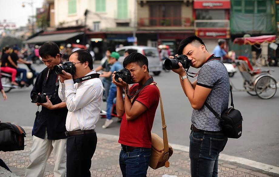 Mẹo chụp ảnh đường phố cho người mới bắt đầu
